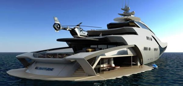 for those who are bored with their other three mega-yachts...