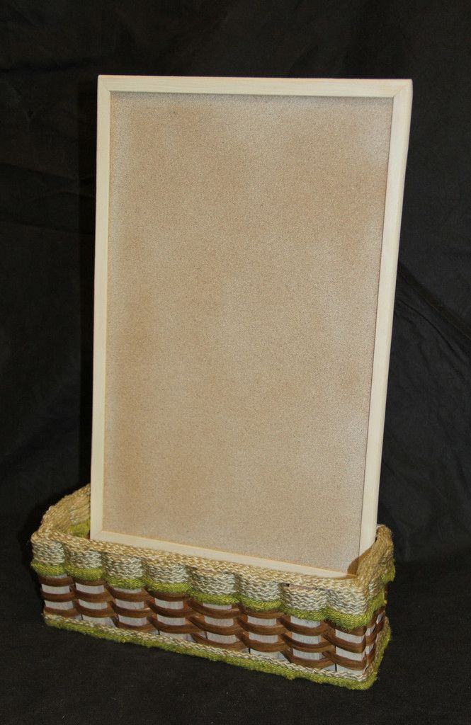 Shabby Chic Collection-Small cork board basket