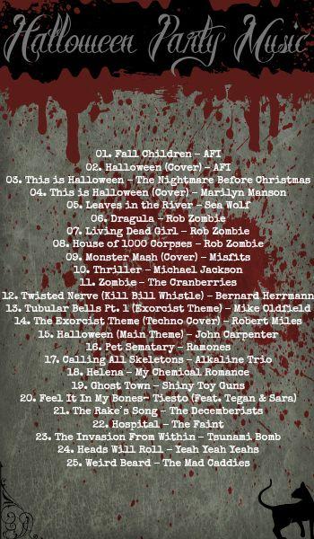 halloween songs radio stations