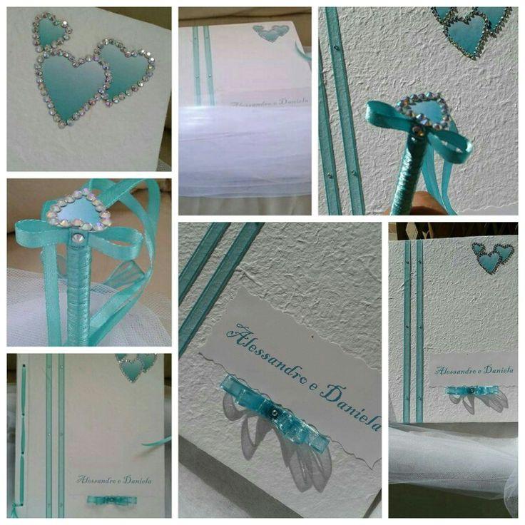 Guestbook Tiffany e strass