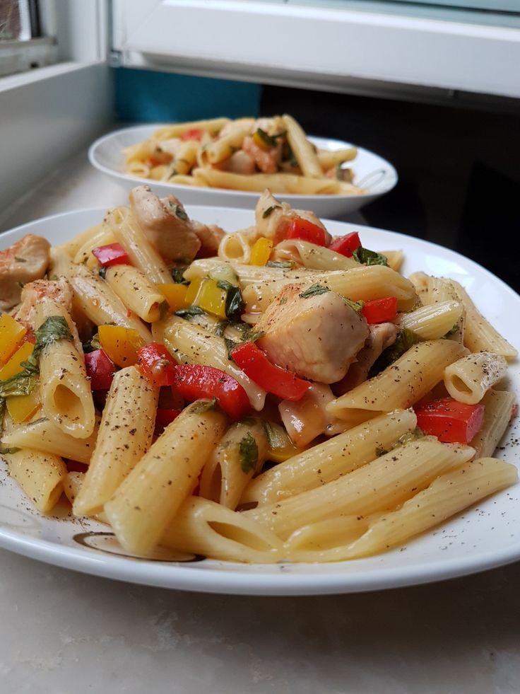 Pollo Piccante á la Vapiano  🍝 #pasta #pollo #piccante #healthy #selfmade #food #foodporn #yummy #delicious