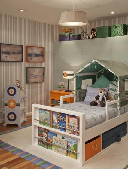 Decoração Hangar para Quarto de Menino, Decoração de Quarto Infantil | Vanessa Guimarães
