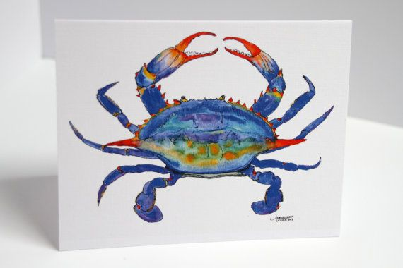 A Cba F F F B C Acd Crab Painting Watercolor Painting