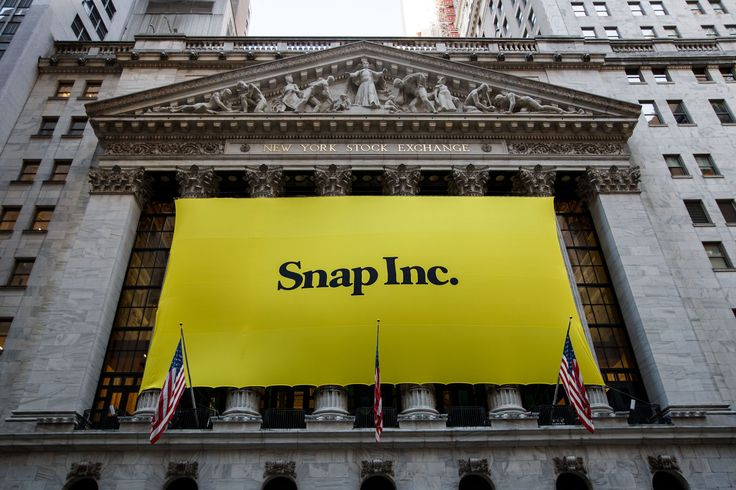 Snap, crackle, pop! Shares of Snap surged 44 percent in their first day on the New York Stock Exchange, as Wall Street investors scrambled to grab a piece of the red-hot startup that owns the Snapchat disappearing-message app. Snap's stock, trading under the ticker SNAP, closed at $24.48 in the regular session, valuing the company......