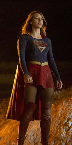 Supergirl is swooping into primetime this Fall, joining the very hot trend of superhero shows on TV. But with CBS series Supergirl, there's no avoiding the question of whether one of the big screen's biggest superheroes will make an appearance.
