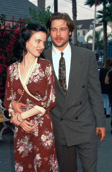 Juliette Lewis The following are classic (stock) images of Brad Pitt.