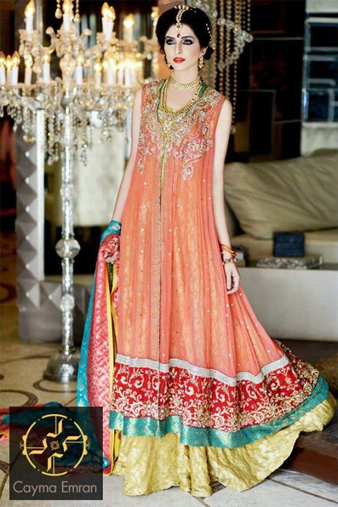 dress by Cayma Emran. i dont know whether this designer is Pakistani or not....