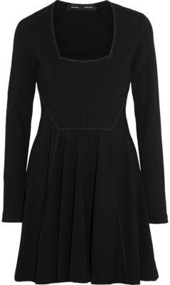 Proenza Schouler Stretch-crepe mini dress