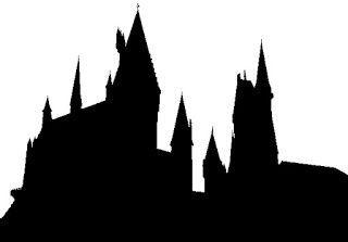 hogwarts castle silhouette - Google Search
