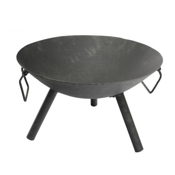 Small Cast Iron Fire Bowl Pit with Steel Legs