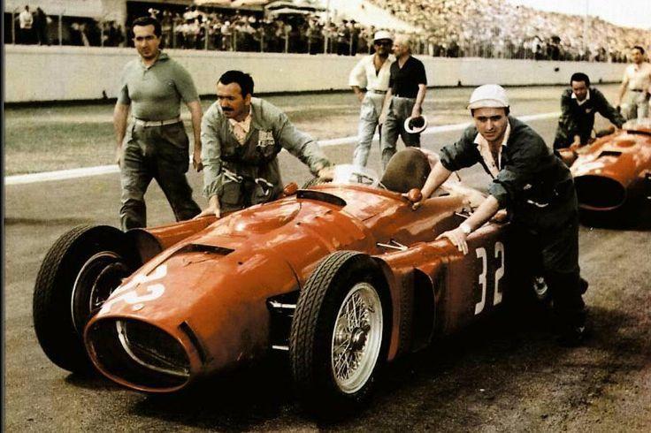 Lancia D50 GP es uno de los coches de segunda mano en la década de 1950's.