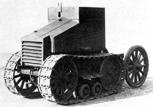 British Tanks of the Inter-war Decades - 1925 - the Morris-Martel One Man Tankette