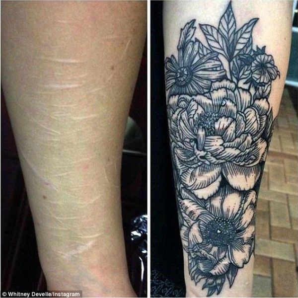 10 Tattoos That Cover Up Cutting Scars And Honor Your Struggle