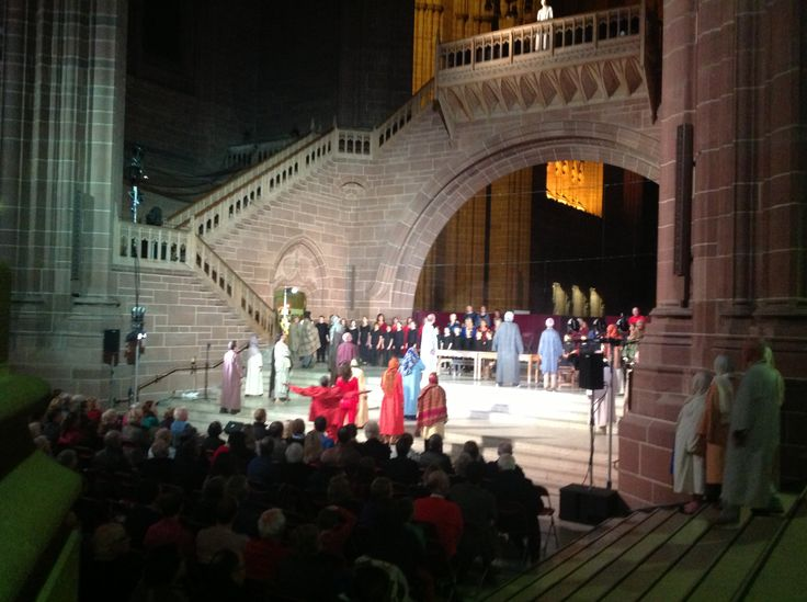 Liverpool Cathedral Mystery Play