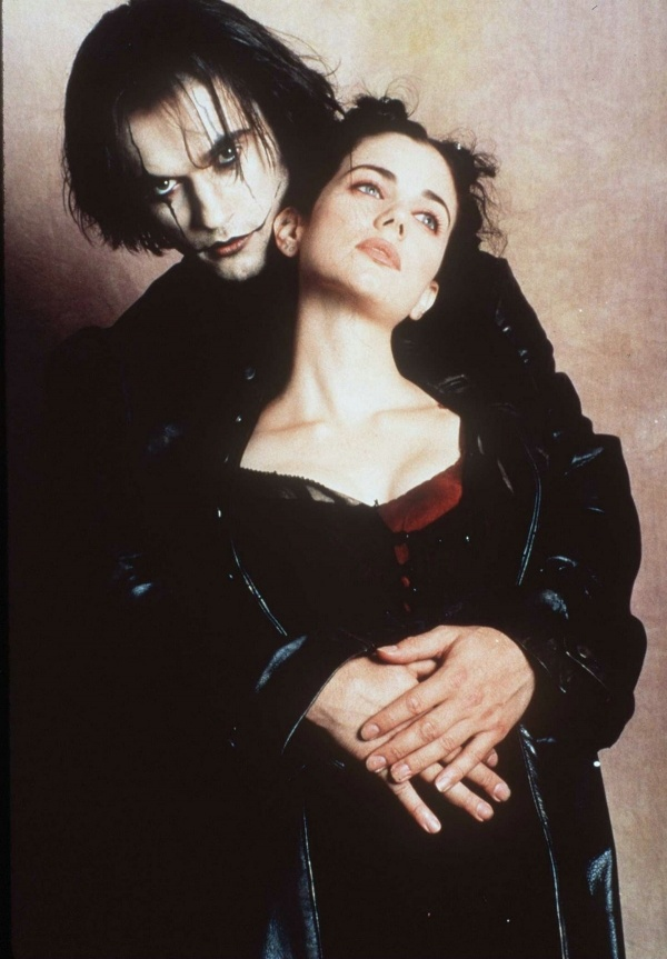 The Crow: City of Angels. Vincent Perez, Mia Kirshner, Iggy Pop. And Hole was on the soundtrack! Yes.