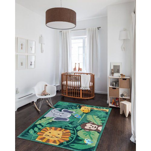 Found it at Wayfair - Green Area Rug