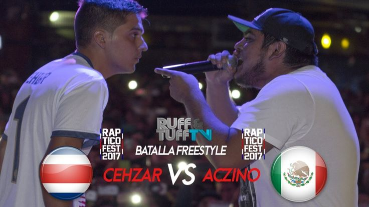 Aczino vs Cehzar (Exhibición) - Rap Tico Fest 2017 - - http://batallasderap.net/aczino-vs-cehzar-exhibicion-rap-tico-fest-2017/ #rap #hiphop #freestyle