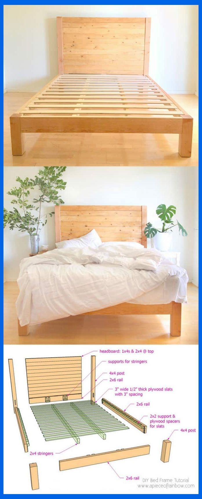 During Chillier Months These Wood Homemade Headboards Would Keep