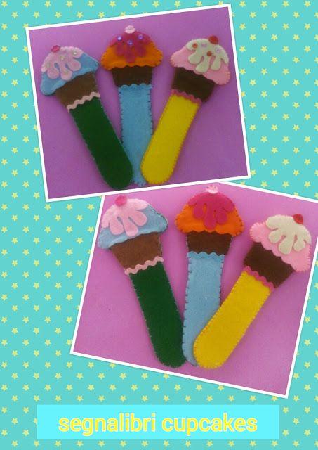 LA VIE EN ROSE: Cupcakes segnalibri