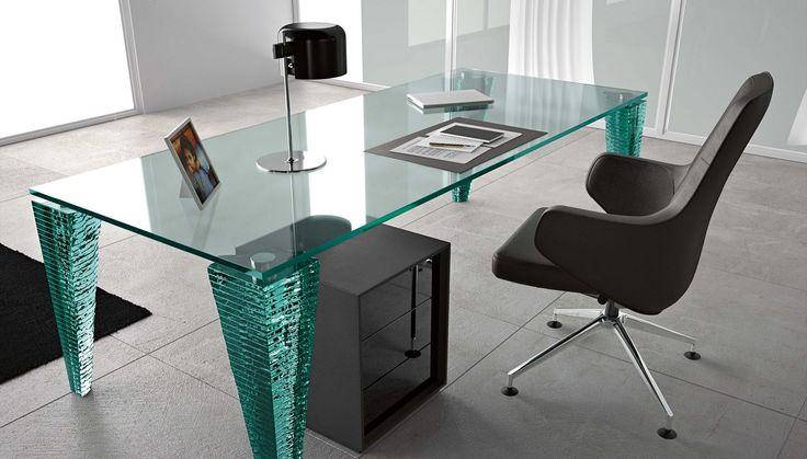 Bardzo oryginalne biurko z kolekcji FIAM - Atlas. Inspiracja od Asymetria Studio.