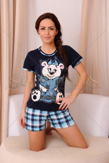 Pijama Innocent Bear DarkBlue