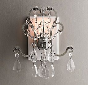 Nightlight | Restoration Hardware Baby & Child---so chic!  get the glamour and sparkle in a small package  <3   they also have a small desktop version if you can't keep your little crawler away from the outlet ;)