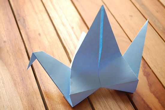 How to Make an Origami Flapping Bird: 12 steps (with pictures)