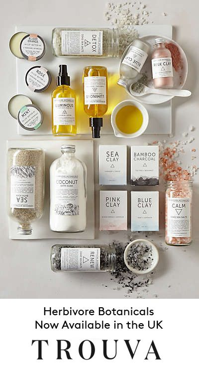 Herbivore Botanicals bring you truly natural, cruelty free skincare that provides results you can see and feel.  Now available in the UK at Trouva. Shop Now. 7% off your first order with code: 7foryou