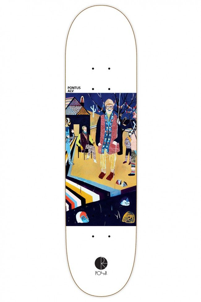 AMTK Alv Nothing's Changed skateboard deck by Polar.
