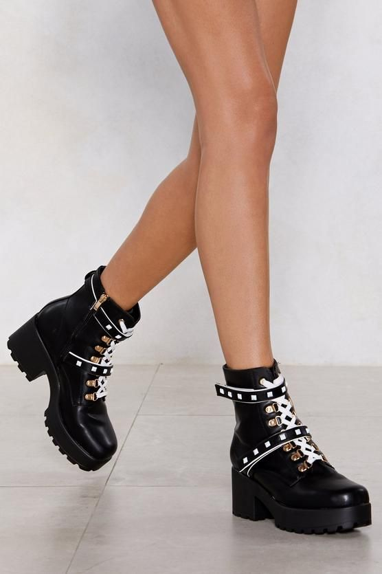 4f1bf5428 ShopStyle Collective | Cool Shoes for Women | Chunky boots, Boots ...