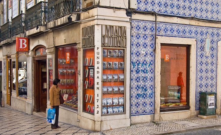 The world's oldest book store dates back to the year 1732,The Bertrand Bookstore in Lisbon, Portugal is 282 years old (9/2014).