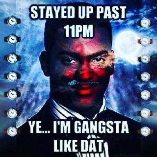 """Ok I promise yo... I'm done. Goodnight... For real."" N-A-M-E-S #goodnight #buenasnoches #carlton #gangsta #redeye #fresh #prince #itsnotunusual #snigga #love #funny #lol #meme ##nameslife #artistoftheyear #consistency #forthecity #photooftheday #photoofthenight   via Instagram"
