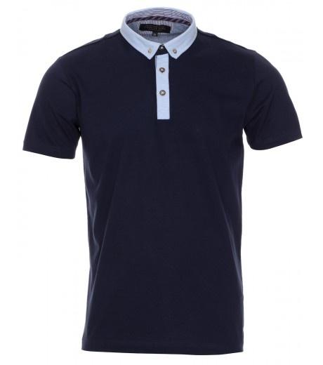 Dark Navy Smart Polo Shirt - £12.99