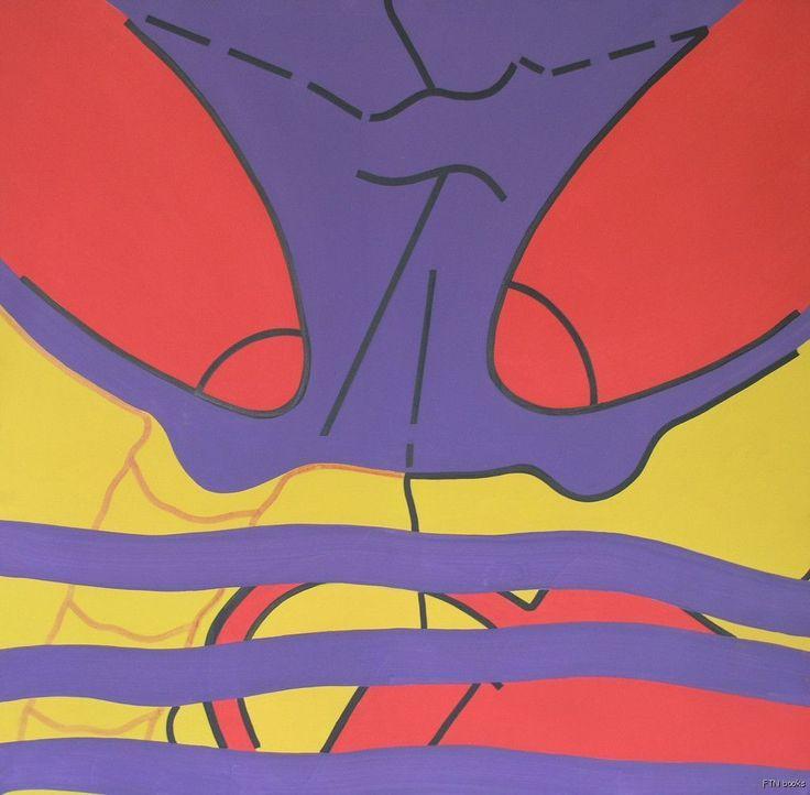 Dieter Hiesserer, Stuyveant collection # BATMAN's CAR # German Pop Art, 1969