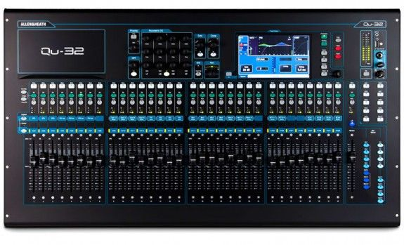 Allen & Heath QU-32 Rackmountable Digital Mixer- Outstanding features on this one guys. Intricate setup allows you to send signal almost anywhere you can think of. Completely customizable group's, sends ect. Mix the way you want.