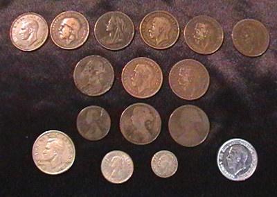 Christmas Silver Coins