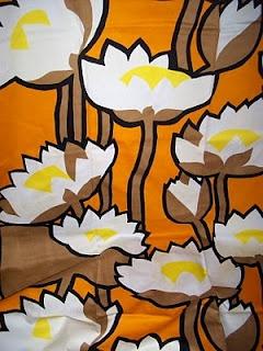 Tampella fabric Ulpukka by Marjatta Metsovaara
