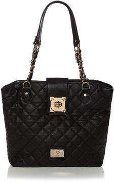 Want.... House of Fraser Juno Black quilt tote bag on shopstyle.co.uk
