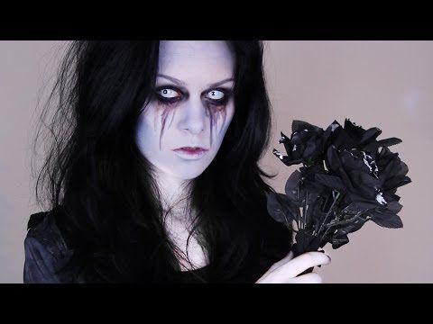 Halloween Bride -- Zombie Bride Makeup Tutorial