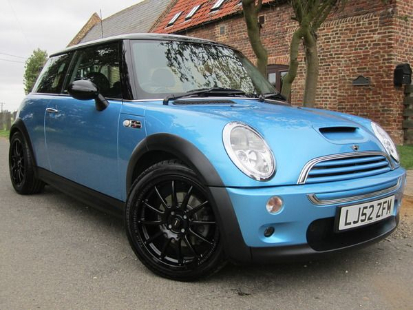 mini cooper s 2002 blue google search my history of cars pinterest blue mini coopers. Black Bedroom Furniture Sets. Home Design Ideas