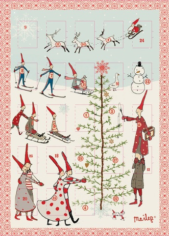 Scandinavian advent calendar Laura McKittrick, The Greenwich Girl TheGreenwichGirl.com