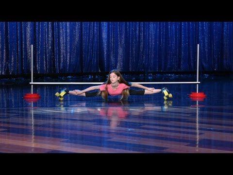 Pole Dancer Marion Crampe Stuns Ellen with Her Impressive Moves - YouTube