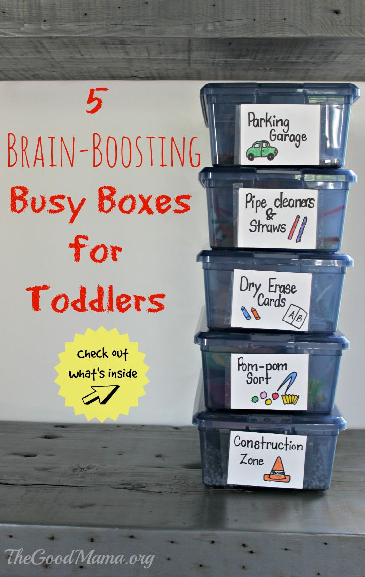 5 Brain-Boosting Busy Boxes for Toddlers The Ultimate Party Week 51