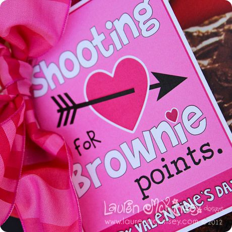 shooting for brownie points