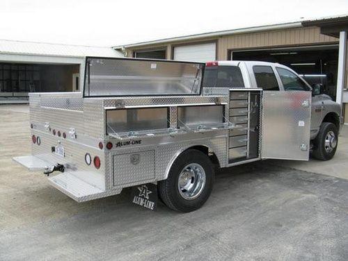 Pickup Truck Accessories Near Me >> Alum-Line - Custom All-Aluminum Trailers, Truck Bodies ...