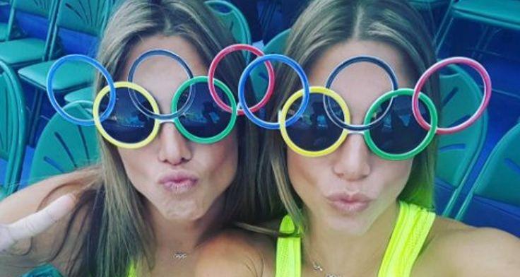 Οι δίδυμες Βραζιλιάνες των Ολυμπιακών Αγώνων -Συγχρονισμένη κολύμβηση μόντελινγκ πλαστική στήθους