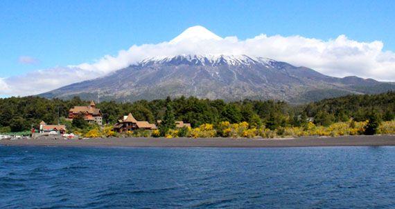 Vulcão Osorno Lagos Andinos #Chile