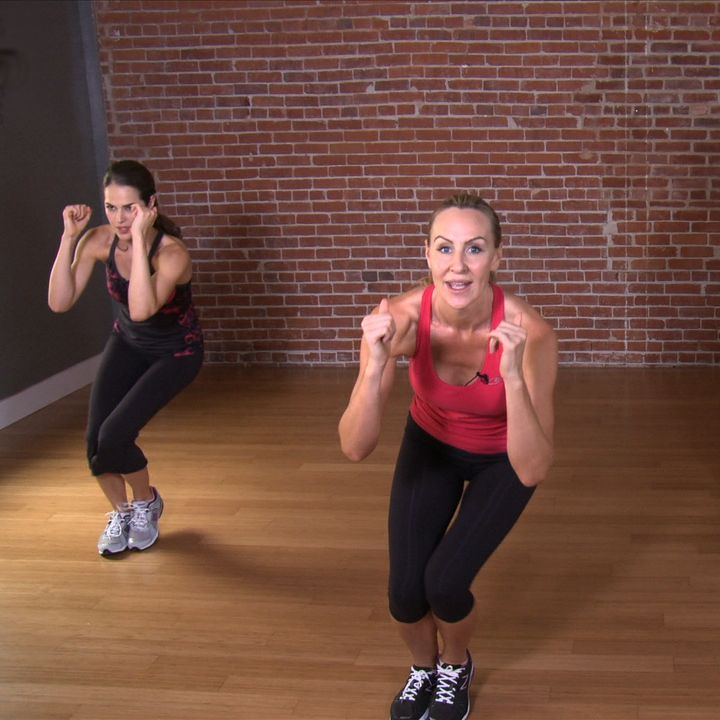 This kicked my legs and butt into gear for the gym!   Victoria's Secret Model Workout: 10-Minute Fat-Blasting Circuit