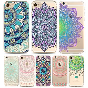 Painted Marble Soft TPU Phone Cases For iphone 7 Plus 6 6s Creative Mobile Phone Protective Cover - Newchic Mobile.