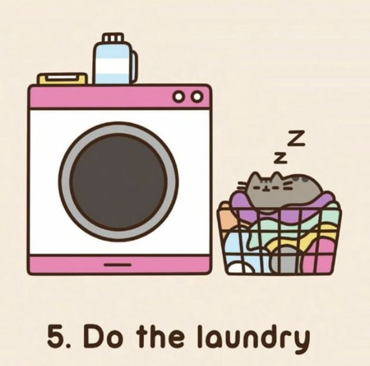 lets see..are we going to wash pusheen?